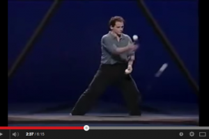 Juggling in The Triangle, Thinking Outside The Box